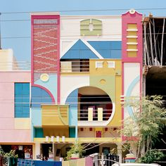 Play house: an abode in Tirunamavalai City in South India, the inspiration for Memphis design.