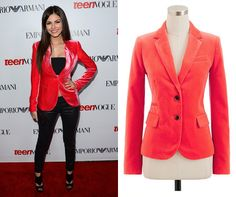 Fall Trend: Velvet as seen on Victoria Justice