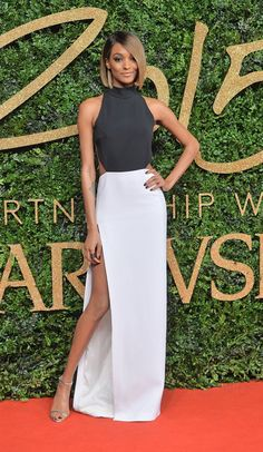 Pin for Later: There Was Not 1 Wrong Look at the British Fashion Awards Jourdan Dunn Jourdan Dunn picked Mulger.
