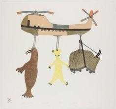 Canadian inuit drawings.