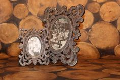 Baroque Style | Baroque style oval photo frame with silver beading large » Photo ...