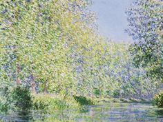 Claude Monet - The Epte River near Giverny