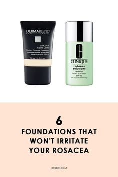 The best foundations for rosacea makeup augen hochzeit ideas tips makeup Rosacea Makeup, Best Makeup For Rosacea, Acne Rosacea, Facial Treatment, Skin Treatments, Best Foundation For Rosacea, Beste Foundation, Beauty Makeup, Hair And Beauty