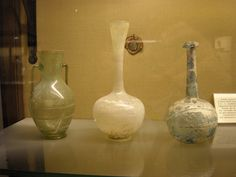 Glass of Pompeii (79 AD) - Naples, Archaeological Museum by * Karl *, via Flickr
