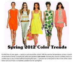The Mahogany Stylist: Spring 2012 - Bold, Beautiful Color
