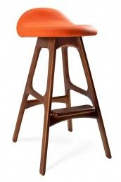 Fun barstools to add a pop of color.