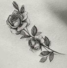 66 Ideas tattoo ideas for moms inspiration fonts - - Rose Stem Tattoo, Rose Drawing Tattoo, Rose Tattoos, Body Art Tattoos, New Tattoos, Tatoos, Piercings, Piercing Tattoo, Ankle Tattoo