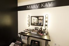 Episode 2: How awesome is the Mary Kay Color Design Studio? It would be a dream to have our makeup done here every day! #PRAllStars