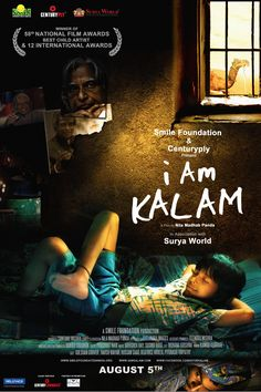 I AM KALAM is the first film in the world produced by a development organization -' SMIL E FOUNDATION'. Normally development organizati...