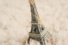 Eiffel Tower Miniature with Cupcake Necklace