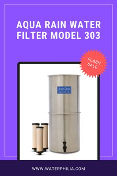 Energy Free All Natural Gravity Water Filter Made Entirely in the USA Commercial Grade Stainless Steel Vessels Ceramic Elements May Be Safely Cleaned Laboratory Proven Effectiveness Best Water Filter, Filters, Aqua, Commercial, Rain, Stainless Steel, Natural, Free, Rain Fall