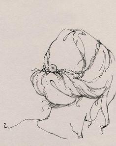 contour line drawing- Patterson Maker
