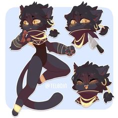 My art trade part for ! Hope you like them! I love this OC oh my god . Thanks so much for trading with me! Its an honor… Character Inspiration, Character Art, Character Design, Come Little Children, Cat Oc, Cute Art Styles, Furry Art, Mythical Creatures, Art Tutorials