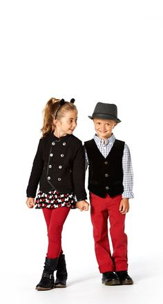 Back to School Trend Watch: Vests! @FOREVER™ 21 @Flower-collection Ruum American Kid's Wear @D R. Martens @p.s. from aéropostale