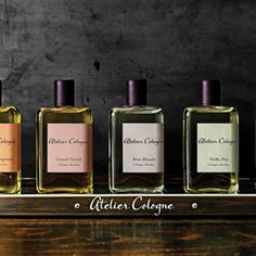 Atelier Cologne.... Very sexy design  http://www.boxvot.es/Rankings/Comprar-Atelier-Cologne-Online
