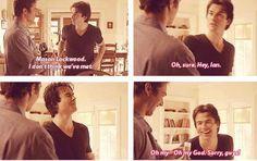 "Season 2. lol  I think you mean, ""Damon"" Ian. lol"