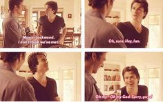 "Season 2. lol  I think you mean, ""Damon"" Ian. lol"