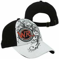 Whisky River JR Motorsports Ladies Adjustable Hat - Black/White