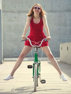Mit Rock Fahrrad fahren? Kein Problem, dank Penny in Your Pants-Trick! MEHR ERFAHREN >>>