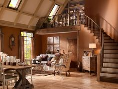 rustic paint ideas for living room  | 25 Rustic Living Room Ideas That Are Overpoweringly Attractive ...