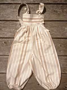 Baobab Organics: Organic Baby Clothing: Color Grown Overall / Dye and chlorine free