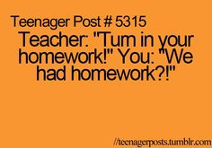 Teenager Post #5315