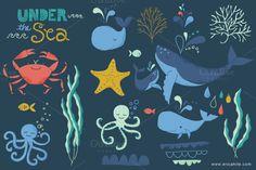 Under the Sea: Vector Art