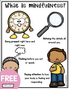 FREE mindfulness for tools for kids - free mindfulness printables and curriculum - free kindergarten social emotional learning - first grade freebie worksheets - teach mindfulness - mindful parenting - elementary school counseling Elementary School Counseling, School Social Work, School Counselor, School Fun, Elementary Schools, What Is Mindfulness, Mindfulness For Kids, Social Emotional Learning, Teaching Social Skills
