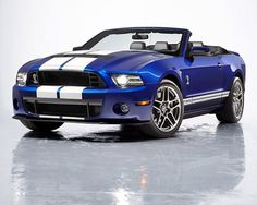 Ford 2013 Shelby GT500 Convertible #cars #auto