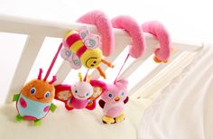 mylb new infant Toys Baby crib revolves around the bed stroller playing toy car lathe hanging baby rattles Mobile 0-12 months