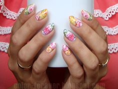 BornPrettyStore Floral Water Decals
