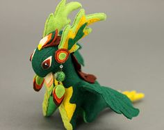 Stofftier Drache Fantasie Plüsch Tier Textil Spielzeug Soft Skulptur Kinder, Stoff-Spielzeug, handmade, Lieblings-Spielzeug