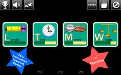 Kids Measurement Science Lite - screenshot #app #android #matematicas