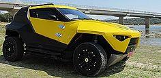 El Fornasari Racing Buggy es un potente todoterreno italiano de cuatro plazas, con un diseño que podría permitirle acompañar al 'Curiosity' sobre la superficie de Marte.