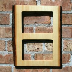 Rustic Wood Picture Frame. $45.00, via Etsy.