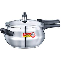 Prestige 3.3-Liter Deluxe Alpha Induction Base Stainless Steel Baby Handi, Small, Silver - http://pressurecookers.info/product/prestige-3-3-liter-deluxe-alpha-induction-base-stainless-steel-baby-handi-small-silver/
