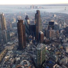 City of London - Pinnacle site in centre