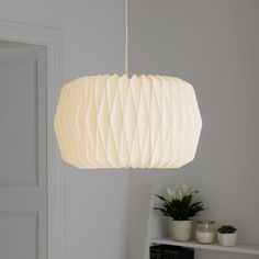 Shop for Wilko Textured Paper Light Shade at wilko - where we offer a range of home and leisure goods at great prices. Paper Light Shades, Hall Lighting, Stationery Craft, Business For Kids, Paper Texture, Dining Room Table, Things To Buy, Home Accessories, Light Bulb