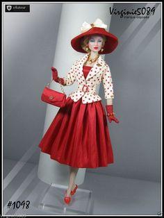Tenue Outfit Accessoires Pour Fashion Royalty Barbie Silkstone Vintage 1098   eBay