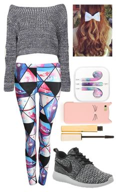 """""""Untitled #89"""" by rena-veloni ❤ liked on Polyvore featuring Boohoo, NIKE, Kate Spade and Stila"""