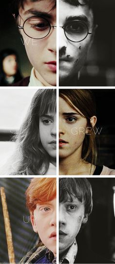 growing up sometimes can be one of the hardest thing in life The Golden Trio