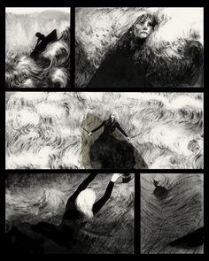 Captain - Graphic Novel - Serena Malyon Illustration