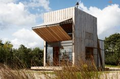 ARCHITEKTUR: Whangapoua Sled House