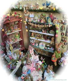Hippity Hop Shop (jt-another room box by Denise - so amazingly detailed. Visit for more views)