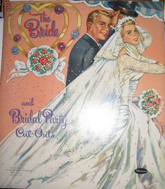 The Bride Paper Dolls by Pennelainer, via Flickr