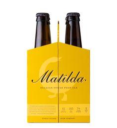 4 pack goose island matilda beer carrier
