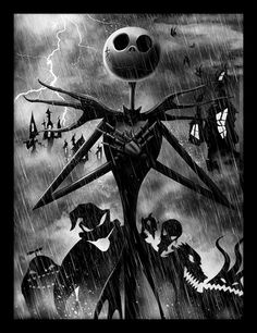 A great poster of Jack Skellington from The Nightmare Before Christmas! A hauntingly fun holiday movie by Tim Burton. Check out the rest of our selection of Nightmare Before Christmas posters! Need Poster Mounts. Art Tim Burton, Tim Burton Kunst, Tim Burton Films, Tim Burton Artwork, Jack Skellington, Kingdom Hearts, Jack Und Sally, The Nightmare Before Christmas, Nightmare Before Christmas Wallpaper
