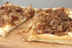 Caramelized Onion Tart with Willard's Kitchen All Purpose Seasoning - Great Appetizer and easy to make for many!
