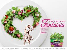 イマジネーションをかき立てる!料理の楽しさを巧みに表現した楽しい広告 | AdGang