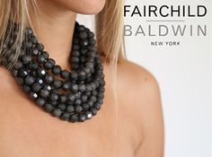 The Bella is a classic necklace that every chic woman should own! From Fairchild Baldwin #fairchildbaldwin #TheBella
